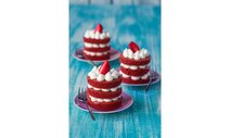 Red Velvet mini tortičky