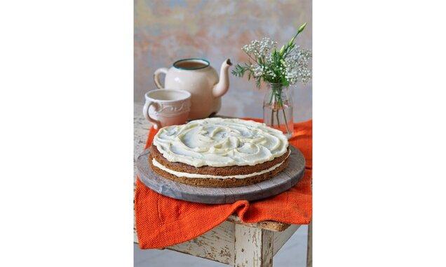 Mrkvový koláč so smotanovým krémom
