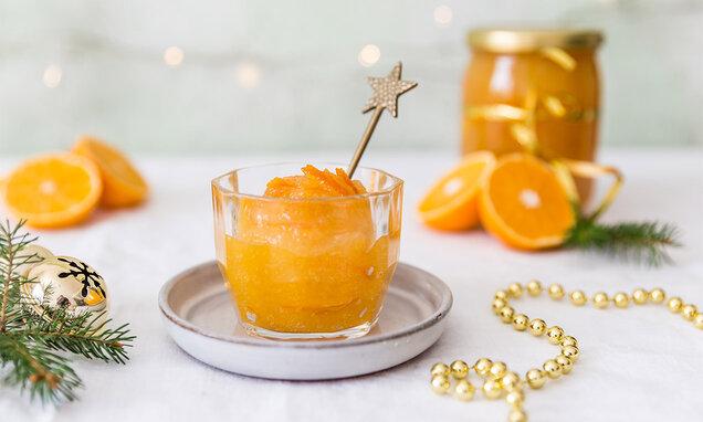 Mandarínková marmeláda s rumom