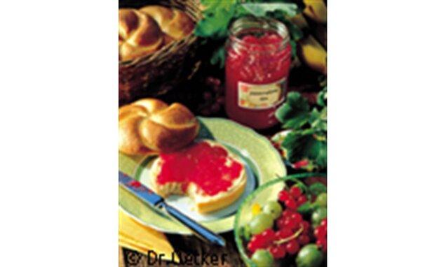 Jahodovo-ríbezľový džem